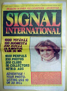 SIGNAL PENPAL MAGAZINE - 3 800 pages - 50 000 ads * http://www